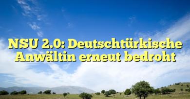 NSU 2.0: Deutschtürkische Anwältin erneut bedroht
