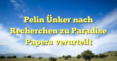 Pelin Ünker nach Recherchen zu Paradise Papers verurteilt